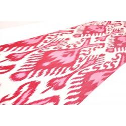 Нежно-розовая Шелковая ткань