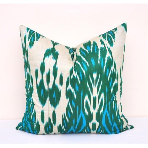 Темно-Зеленная подушка из Адраса 50смх50см