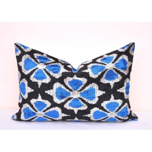 Декоративная наволочка для подушки из натурального бархата