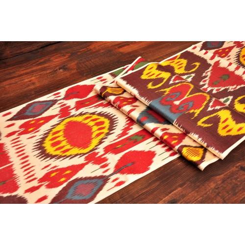 Этнический дизайн шелк