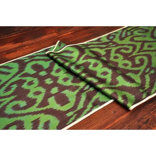 Зеленная ткань Икат