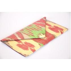 Клатч конверт из натуральной ткани