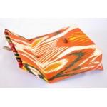 Клатч конверт Икат Orange