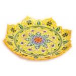 Желтая посуда, 32 см
