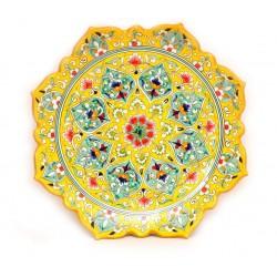 Красивая посуда Риштана, 32 см