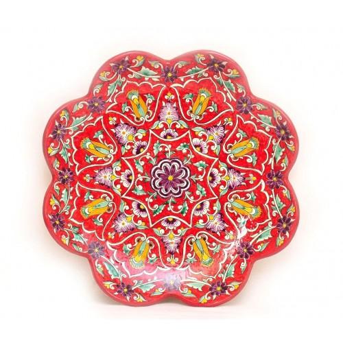 Роспись тарелка, 32 см