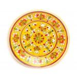 Глина посуда, желтая 23 см