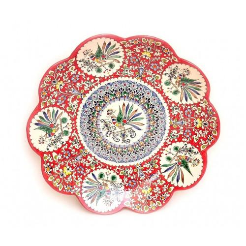 Тарелка керамика, 42 см