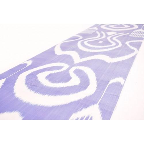 Шелковая, голубая ткань