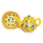 Чайный набор желтого цвета