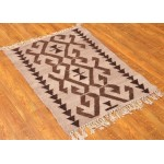 Двусторонний килим ковер, 100 см х 70