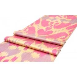 Розово бежевая ткань