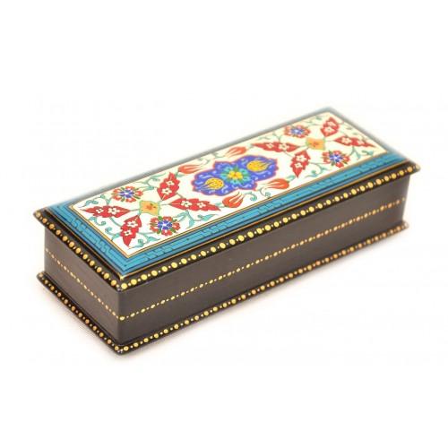 Шкатулка для украшений лаковая миниатюра