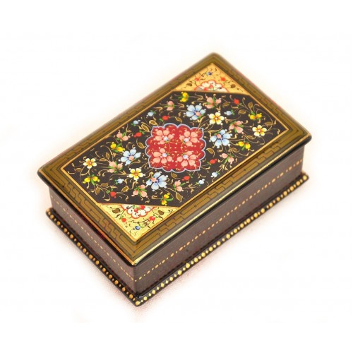 Шкатулка с ручной росписью, 11х7х4,5 см