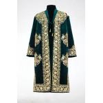 Бухарский золотошвейный халат вильюровый