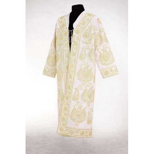 Золотошвейный халат на бархате
