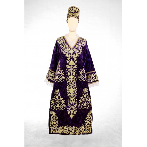 Платья-вышита золотыми нитками