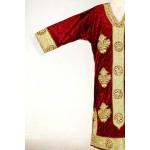 Платья женская -золотым шитьем