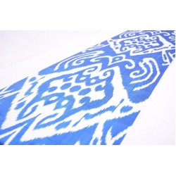 Ткань для декора голубая пустыня