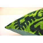 Бархатная подушка для софы  60 см х 38 см