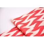 Бело красная ткань