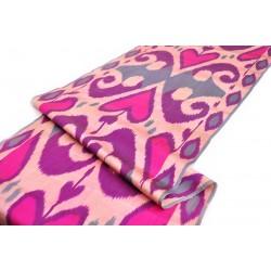 Шелковая ткань ручной работы