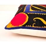 Съемный чехол ручной вышивкой для декоративной подушки