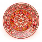 Красная тарелка, 27 см