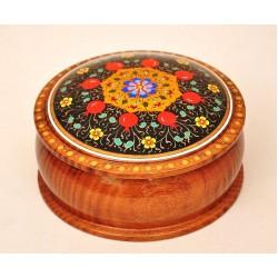 Шкатулка деревянная, авторская роспись