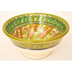 Зеленая посуда из керамики