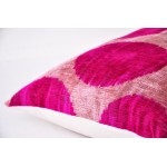 Чехол для декоративной подушки из натурального бархата