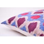Декоративный чехол для подушки, из натурального бархата
