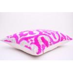Съемная наволочка для подушки из натурального бархата