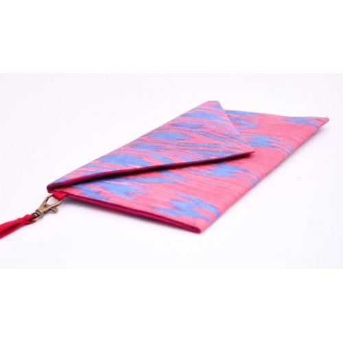 Элегантная сумочка конверт Икат