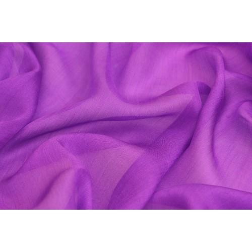 Фиолетовая шелковая ткань эксельсиор