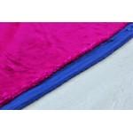 Бархатная ткань из хлопка цвет фукции
