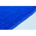 Классическая бархатная ткань синего цвета