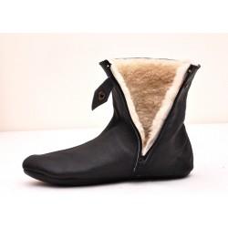 Кожаные носки Хуффайни утепленные