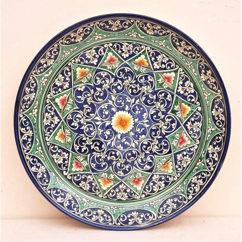 Декоративная тарелька 38 см