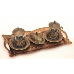 Чайный набор из латуни