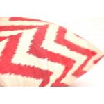 чехол на подушки красная