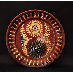 Тарелка керамикой, 21 см
