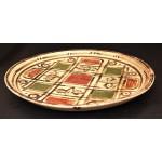 "Керамический тарелка ""Мазаика"", 33 см"