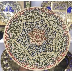 Узбекская ручная чеканка,30 см