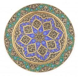 "Настенная тарелка ""Цветочный рай"""