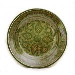 Тарелка из керамики для плова