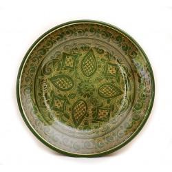 Блюдо из керамики для плова