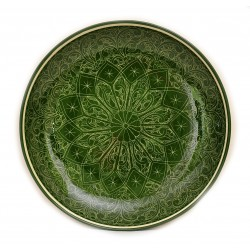 Узбекская тарелка из керамики 32 см