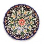 Тарелка для декора с рифлеными краями
