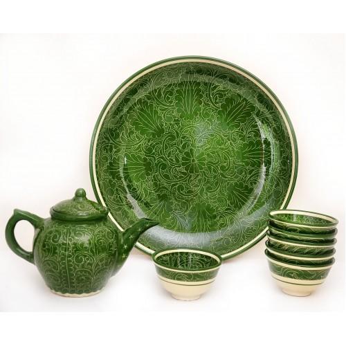 Чайный сервиз из керамики